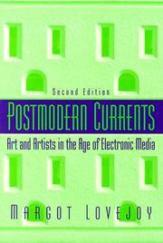 Postmodern currents by Margot Lovejoy
