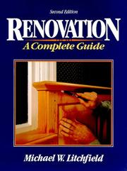 Cover of: Renovation, a complete guide