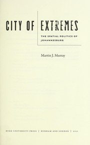 Cover of: City of extremes