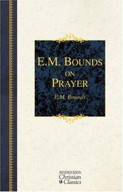 Cover of: E.M. Bounds on Prayer