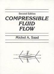 Cover of: Compressible fluid flow