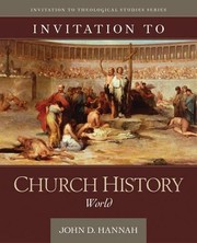 Cover of: Invitation to Church History