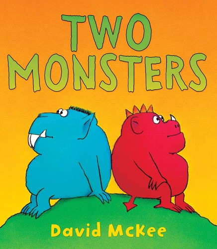Two monsters by McKee, David., David McKee