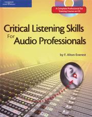 Cover of: Critical listening skills for audio professionals