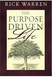 The Purpose Driven Life on Playaway by Rick Warren