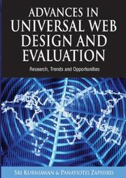 Advances in Universal Web Design and Evaluation by