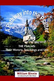 Cover of: A Pathway into the Psalter