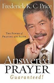 Cover of: Answered Prayer