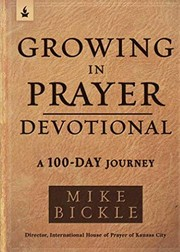 Cover of: Growing in Prayer Devotional
