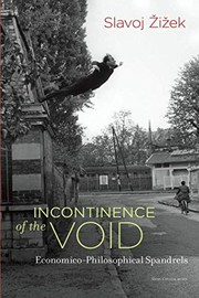 Cover of: Incontinence of the Void