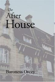 Cover of: The After House