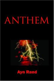 Cover of: Anthem | Ayn Rand
