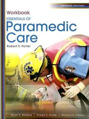 Cover of: Essentials of Paramedic Care | Robert S. Porter