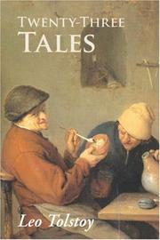 Cover of: Twenty-Three Tales | Tolstoy