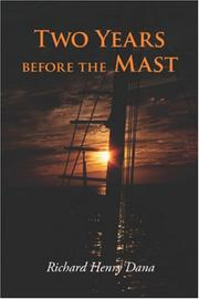 Cover of: Two Years Before the Mast