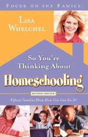 Cover of: SO YOU'RE THINKING ABOUT HOMES
