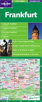 Cover of: Lonely Planet Frankfurt City Map
