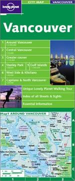 Cover of: Lonely Planet Vancouver City Map