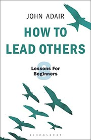 Cover of: How to Lead Others