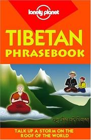 Cover of: Tibetan Phrasebook
