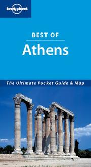Cover of: Lonely Planet Best of Athens | Victoria Kyriakopoulos