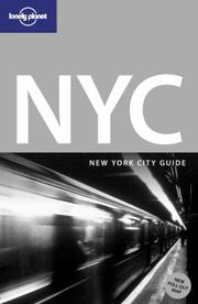 Cover of: Lonely Planet New York City | Beth Greenfield
