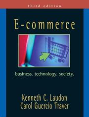 Cover of: E-Commerce | Kenneth Laudon