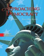Cover of: Approaching Democracy, 5th Edition | Larry Berman