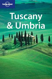 Cover of: Lonely Planet Tuscany & Umbria (Lonely Planet Tuscany and Umbria) | Alex Leviton