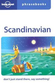 Cover of: Lonely Planet Scandinavian Phrasebook