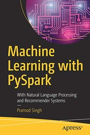 Cover of: Machine Learning with PySpark