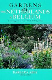 Cover of: Gardens of Netherlands and Belgium (Gardens of Europe)