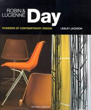 Cover of: Robin and Lucienne Day: Pioneers in Modern Design