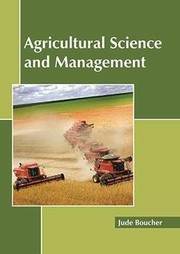 Cover of: Agricultural Science and Management |