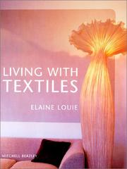 Cover of: Living with textiles