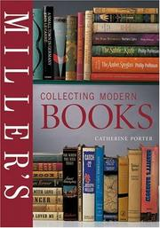 Cover of: Miller's collecting modern books