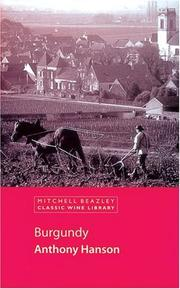 Burgundy by Anthony Hanson