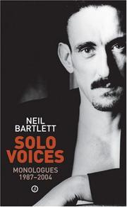 Cover of: Solo Voices