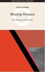 Cover of: Missing Persons