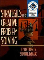 Cover of: Strategies for creative problem solving | H. Scott Fogler