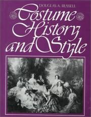 Cover of: Costume history and style by Douglas A. Russell
