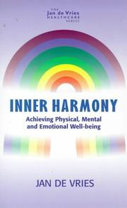 Cover of: Inner Harmony