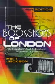 Cover of: The Bookshops of London | Jackson, Matthew.