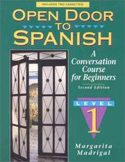 Cover of: Open Door to Spanish