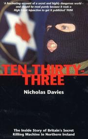 Cover of: Ten-Thirty-Three | Nicholas Davies