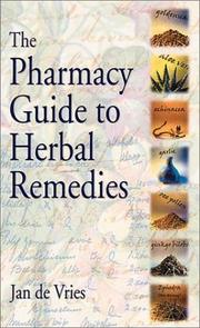 Cover of: The Pharmacy Guide to Herbal Remedies (Pharmacy Guides)