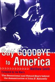 Cover of: Say goodbye to America