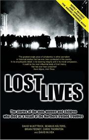 Cover of: Lost Lives