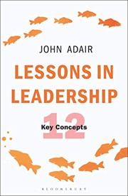 Cover of: Lessons in Leadership
