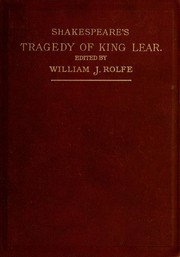Shakespeares tragedy of King Lear